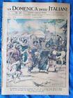 La Domenica degli Italiani o del Corriere 4 novembre 1945 Giappone - Tibet