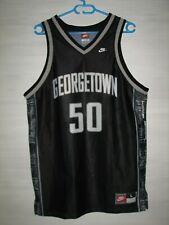 #50 GEORGETOWN HOYAS VINTAGE 90s BASKETBALL SHIRT NIKE JERSEY SIZE L