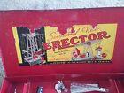 VINTAGE 1950'S ERECTOR SET, WORLD'S GREATEST TOY,  WITH METAL STORAGE CASE