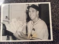 1941 Bob Feller Original type 1 Photo Cleveland Indians
