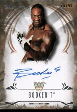 2016 Topps WWE Undisputed Autographs Bronze BOOKER T Auto #/99