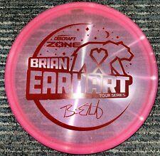 DISCRAFT BRIAN EARHART TOUR SERIES ZONE 2021 DISC GOLF PUTTER 173-4G PK/RD