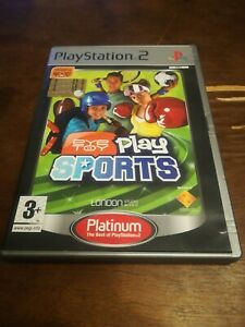 Eye Toy Eyetoy Play Sports PS2 - Playstation 2 CON MANUALE