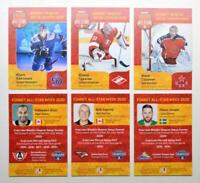 2020 KHL Sereal All-Star Week Base Pick a Player Card