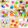 Cute Rubber Pencil Eraser Stationery Student School Office Supplies Kids Toys