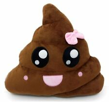 Pink Poop Emoji Pillow Emoticon Princess Cushion Soft Plush Toy Doll