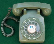 Vintage Green Itt Desk Phone Telephone c.1970