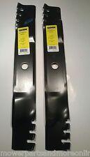 2 x Hardened Predator 40 Inch Cut Murray Lawn Mower Blade - 91871E701, 91871HT
