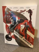 Captain America 2 Bluray Steelbook, Fullslip New/Sealed, Novamedia 579/1000
