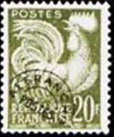 "FRANCE STAMP TIMBRE PREOBLITERE N° 113 "" COQ GAULOIS 20F "" NEUF xx TTB"