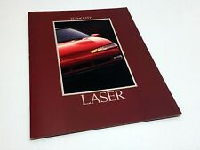 1992 Plymouth Laser Brochure