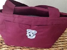 Embroidered Dog Breed Mini Schnauzer Lover Gift Insulated Lunch Cooler Tote Bag