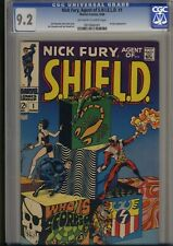NICK FURY Agent of SHIELD 1   all JIM STERANKO both STORY and ARTWORK    CGC 9.2