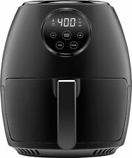 CHEFMAN - TurboFry 3.7qt Digital Air Fryer - Black