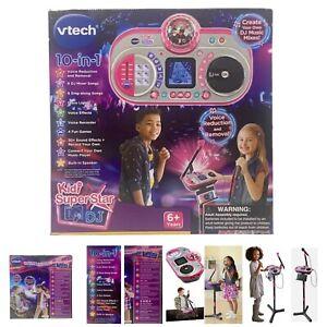 Vtech KIDI SUPER STAR DJ ENGLISH VERSION Educational Electronic Sing Long Lights
