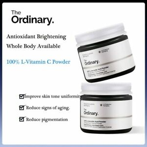 The Ordinary L-Vitamin C Whitening Powder Oil Control Anti Aging Spot Pigment