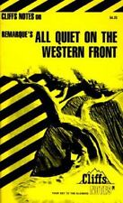 Cliff Notes on Remarque's All Quiet on the Western Front (Paperback) (Ship Deal)
