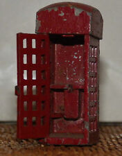 CHARBENS TOYS DINKY TELEPHONE KIOSK WITH OPENING-DOORS PHONE BOX VERY RARE