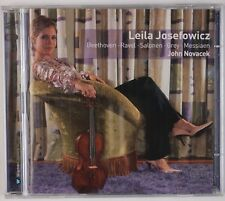 LEILA JOSEFOWICZ: Plays Beethoven et al, Violin WARNER 2005 2x CD NM