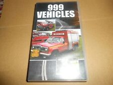 999 Vehicles VHS/PAL Video Emergency Services