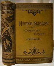 JULES VERNE 1882 HECTOR SERVADAC Career of a Comet 96 Illust VG Binding Restored