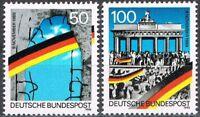 [CF7673] Alemania 1990, Serie 1º Aniv. de la caída del muro de Berlín (MNH)