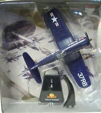 "f4u-4 ""Corsair"", ""The Flying TOROS "", New Ray , aprox. 1/50 , Modelo a escala,"
