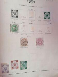 Briefmarkensammlung altdeutschland LÜBECK
