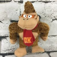 "Nintendo Donkey Kong 8"" Plush Guerrilla Monkey Stuffed Animal Classic Gamer Toy"