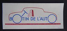 BUVARD BOTTIN DE L'AUTO Annuaire du commerce Didot PARIS