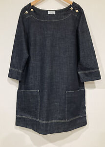 Toast Uk Size 16 Utility Dark Denin Tunic Dress.