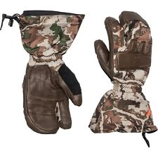 NEW First Lite Grizzly Cold-Weather Gloves ASAT Camo Size Small Wool & Leather