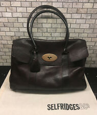 Authentic MULBERRY Brown Darwin Leather Bayswater Hobo Tote Leather Shoulder Bag