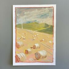 More details for mm138 bowland field shreaded wheat clotted cream mystery masterpieces postcard