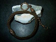 Antike-Biedermeier- Uhrkette -Haar- Kette- 1820-80