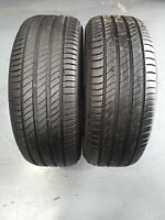 235 55 18 X2 100V MICHELIN PRIMACY 4 OVER 6.5MM NO REPAIRS OR SIDEWALL DAMAGE...
