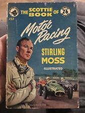 The Scottie Book of Motor Racing 1956 Stirling Moss Automotive Collectible Rare