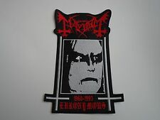 MAYHEM EURONYMOUS 1968-1993 EMBROIDERED BACK PATCH
