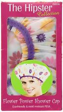 BETTY DAIN The Hipster Collection Flower Power Shower Cap Model #5180