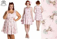 Hell Bunny Deery Me Mini Rockabilly Pinup Swing Vintage Dress 2XL-4XL