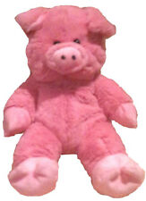 Unstuffed Pink Pig Plush Build Stuff Your Own Farm Animal