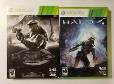 Halo: Combat Evolved - Anniversary Edition & Halo 4 (Xbox 360) Game Lot