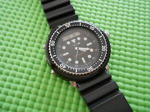 Vintage Seiko H558-5009 Arnie Analog Digital Diver Watch
