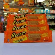 Reeses Ultimate Peanut Butter Lovers King Size 2.8oz (79g) X 4 Packs. USA Import