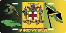 JAMAICA IN GOD WE TRUST LICENSE PLATES