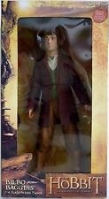 "BILBO BAGGINS The Lord of the Rings Hobbit Movie 1/4 Scale 10"" Figure Neca 2013"