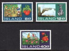 Iceland - 1972 Agriculture Mi. 465-67 MNH