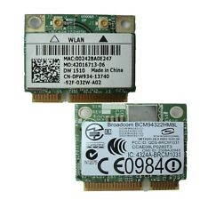 PCI-E BCM94322HM8L DW1510 Mini Dual Band 300M Wireless Card For Dell E4200 PW934