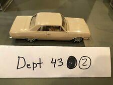 1964 Chevrolet Chevy Malibu Dealer Promo Car Light Yellow White MINT