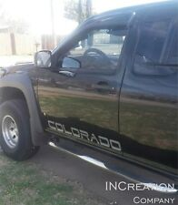 Compatible with Chevrolet Colorado side graphics Vinyl Decals doors Stickers x2